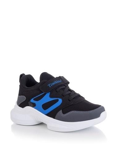 Tonny Black Siyah Sax Çocuk Spor Ayakkabı Tbk08 Siyah